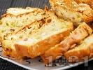 Рецепта Солен кекс със синьо сирене